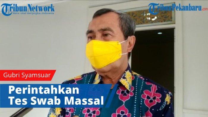 Bertambah 113 Kasus Positif Covid-19 di Riau, Gubernur : Ini Hasil Tracing dari Pasien Sebelumnya