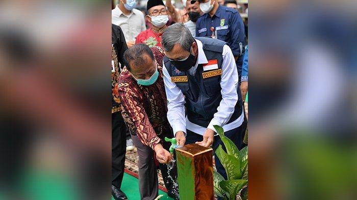 Kran di Buka Gubernur Riau Syamsuar, Air Karman Tak hitam Lagi
