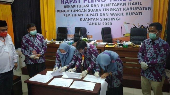 Sidang Perdana Gugatan Pilkada Kuansing 2020 di MK Besok, Komisioner KPU Sudah Berada di Jakarta