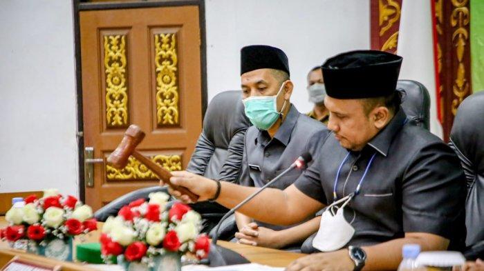 Hadiri Rapat Paripurna, Wali Kota Terima Laporan Hasil Reses dan Kunker DPRD Kota Dumai