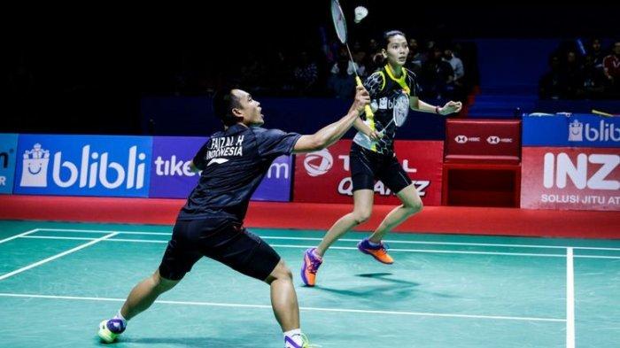 Hasil Thailand Open 2018, Selamat! Hafiz/Gloria Raih Gelar Juara Usai Tumbangkan Inggris