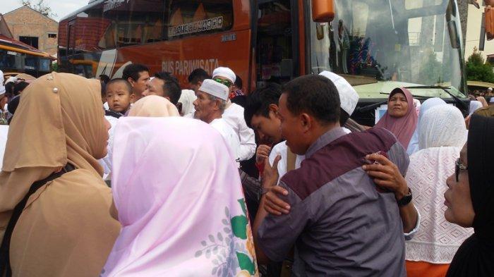 Menjemput Jemaah Haji Asal Kepulauan Meranti, Keluarga Bisa Menunggu di Tempat Ini