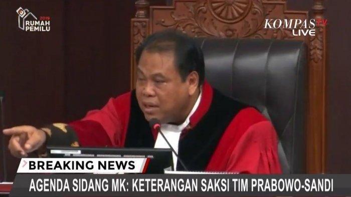 Hakim MK Ancam Bambang Widjojanto Keluar dari Ruang Sidang Sengketa Pilpres 2019