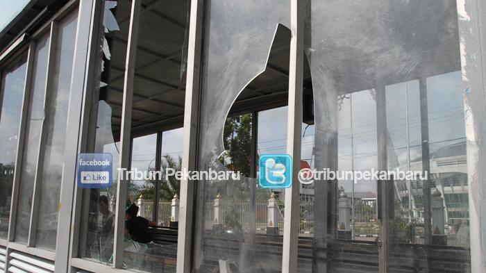 Kapolresta Pekanbaru Ancam Tembak Pelaku Perusakan Halte yang Resahkan Masyarakat