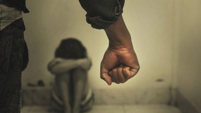 Ilustrasi kekerasan/ ayah tega aniaya anak.
