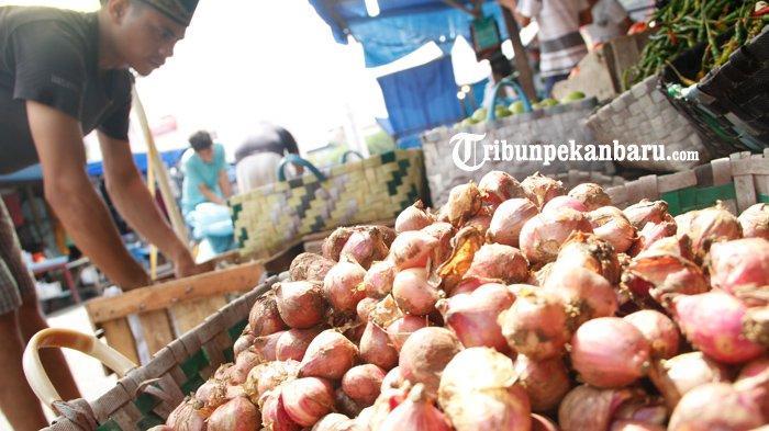FOTO : Harga Bawang Merah di Pekanbaru Capai Rp 50 Per Kg - harga-bawang-merah-di-pekanbaru-okee.jpg