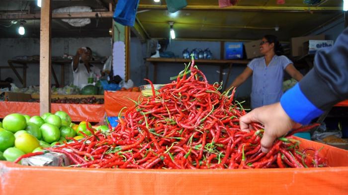 Harga Cabe Merah di Batam Semakin Pedas, Sekilo Mencapai Rp82 Ribu
