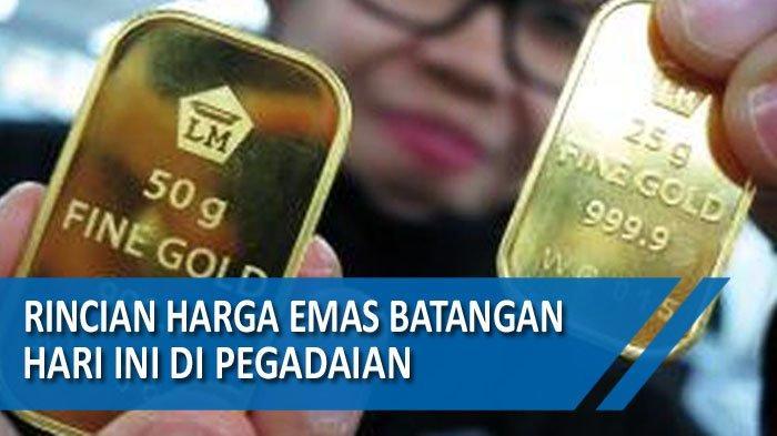 Harga Emas Batangan Hari ini dan Harga BuybackEmas Sabtu(12/12/2020)