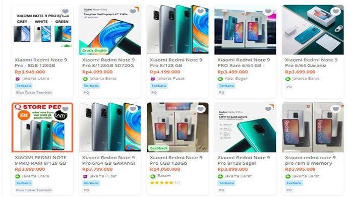 Redmi Note 9 Pro Bakal Calon Hape Ghoib? Ada Pihak Menjual Lebih Tinggi Dibandingkan Harga Resminya