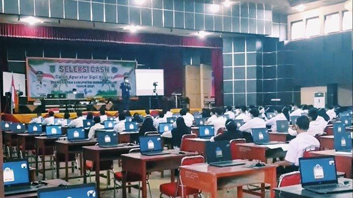 152 Orang Langsung Gagal Jadi Abdi Negara, Tak Hadiri Tes SKD CPNS 2021 Inhil