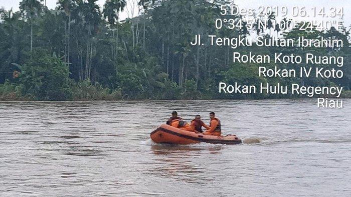 Hari Kedua Sejak Balita Hanyut di Sungai Rokan Riau, Tim SAR Gabungan Sisir Radius 25 Km