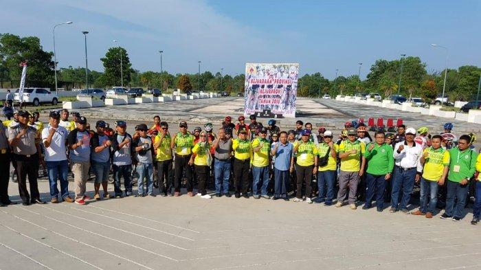 Hari Pertama Kejurprov Riau Balap Sepeda Selesaikan 9 Nomor Lomba