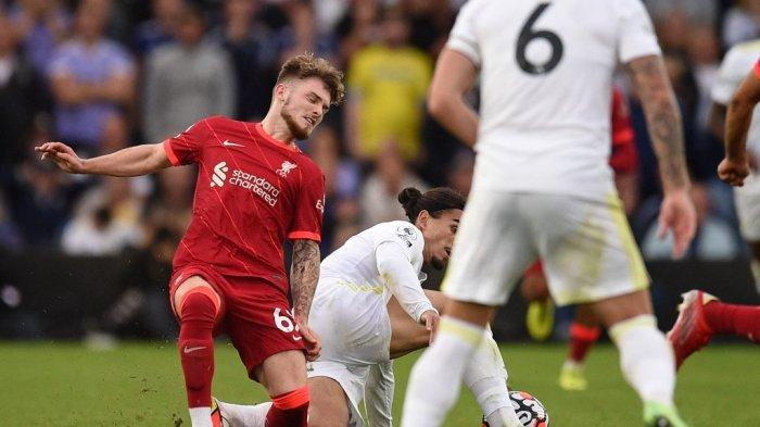 Liga Champions Pukul 2 Dini Hari, Liverpool vs AC Milan, The Reds Pincang Tanpa Harvey Elliott