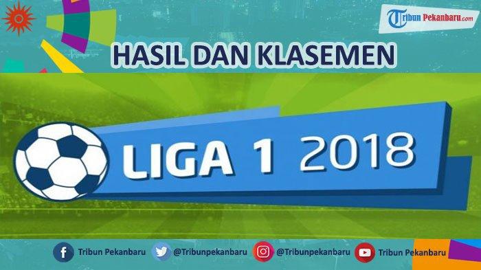 Hasil Klasemen Pekan 21 Liga 1 2018, Bali United Bayangi Persib, Jadwal Borneo FC Vs Persija Jakarta