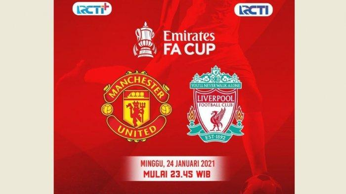 HASIL Piala FA, Skor 3-2, Manchester United Menang Atas Liverpool