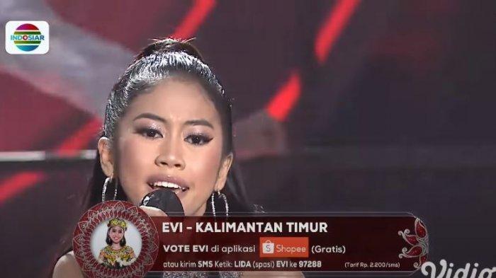 Hasil LIDA 2021 Tadi Malam TOP 12 Grup 3, Evi Kalimantan Timur Tersenggol