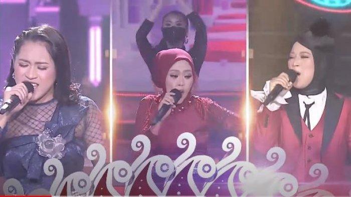 Hasil LIDA 2021 Konser Show TOP 9 Grup 1, Polling Sementara Meldha Jabar dan Ratna Kalsel Tak Aman