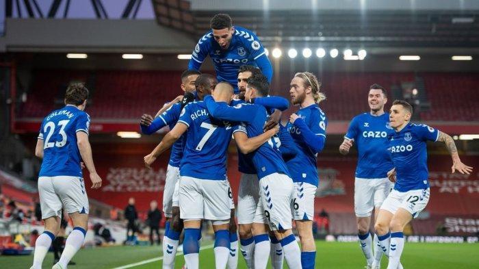Hasil Liga Inggris, Liverpool vs Everton, The Reds Terpuruk, Klopp Meradang