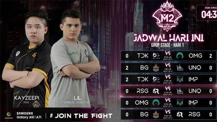 JADWAL & LINK STREAMING Final M2 Mobile Legends: RRQ Hoshi Usung Misi Balas Dendam