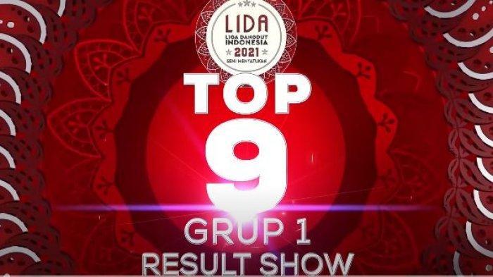 Hasil LIDA Tadi Malam Result Show TOP 9 Grup 1 LIDA 2021, Ratna Kalsel Tertinggi, Meldha Tersenggol