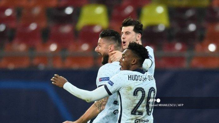 Highlights & Hasil Atletico Vs Chelsea Liga Champions Tadi Malam, Skor 0-1, Giroud Kembali Garang