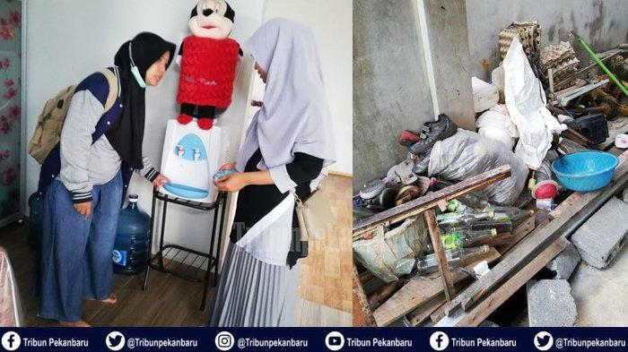 Tim Dinkes Dumai Temukan Jentik Nyamuk Dalam Dispenser Saat Kunjungi Rumah Penderita DBD