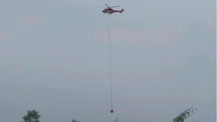 Atas Karhultla di Dumai, Sinarmas Kerahkan 2 Helikopter dan Puluhan Petugas Pemadam Kebakaran
