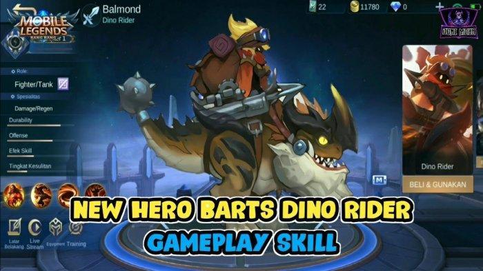 Build Item Hero Barts, Hero Terbaru Mobile Legend Bulan JULI 2020, Bisa Tank & Fighter