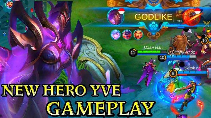 Item Build Hero Yve, Pelajari Skill & Cara Pakai Yve Hero Baru Mobile Legends di Bulan Februari 2021