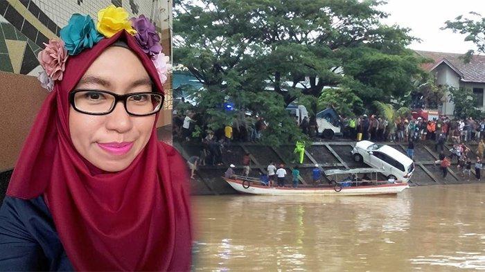 Karyawati Hanyut Setelah Mobil Terperosok ke Banjir Kanal Padang, Hingga Senin Siang Belum Ketemu