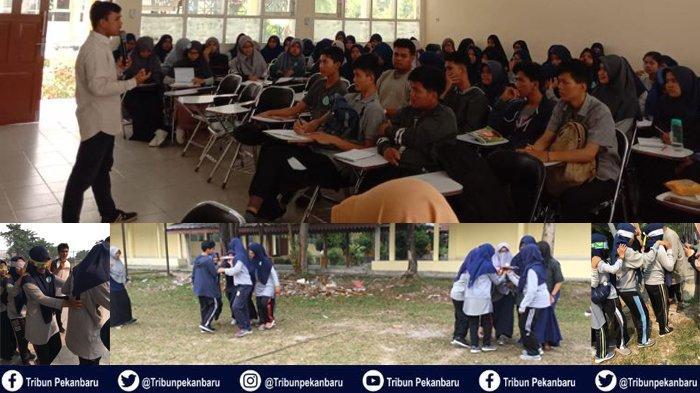 Himaprostpek Universitas Riau Gelar LKTD 1, Wujudkan Generasi Millenial sebagai Pemimpin Berkarakter