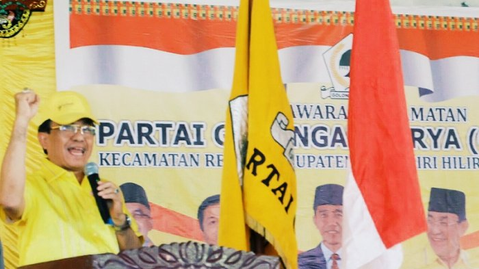 Maju Lagi di Pilkada Inhil, HM Wardan Resmi Mendaftar di PAN