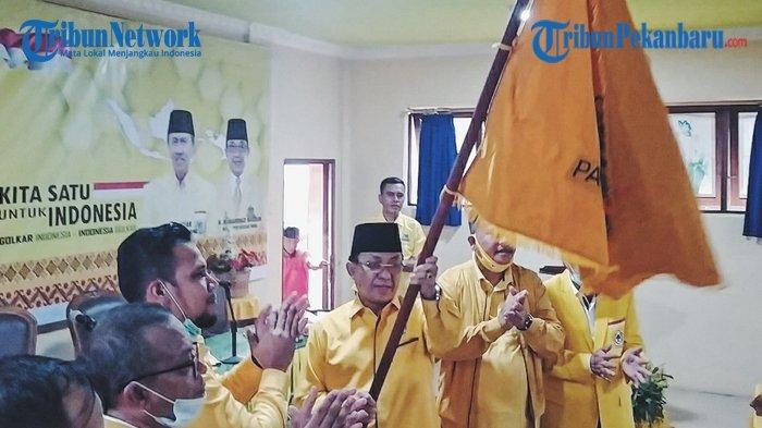 HM Wardan Terpilih Aklamasi Pimpin DPD II Partai Golkar Inhil dalam Musda X