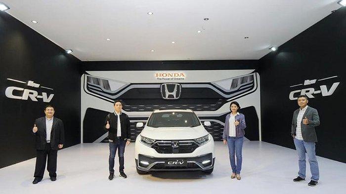 Mau Tahu Harga New CR-V di Pekanbaru?Dibanderol Segini,SematkanTeknologi Keselamatan Honda SENSING