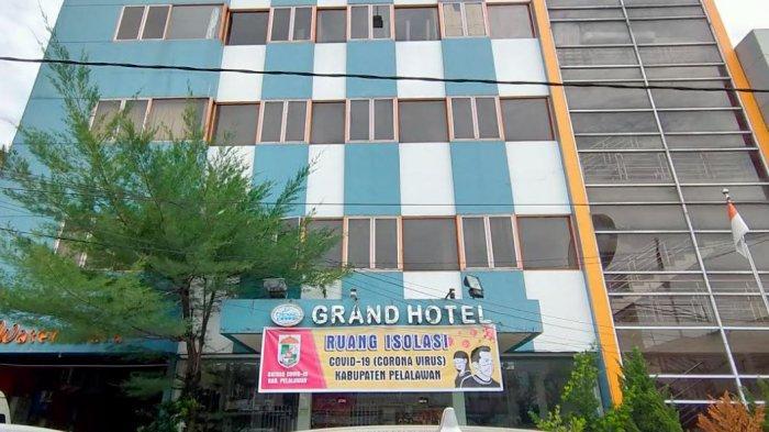 29 Pasien Jalani Isolasi Mandiri di Hotel Grand, Kasus Covid-19 di Pelalawan Bertambah Setiap Hari