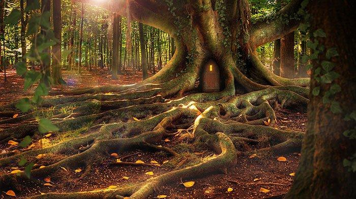 Hutan makhluk halus