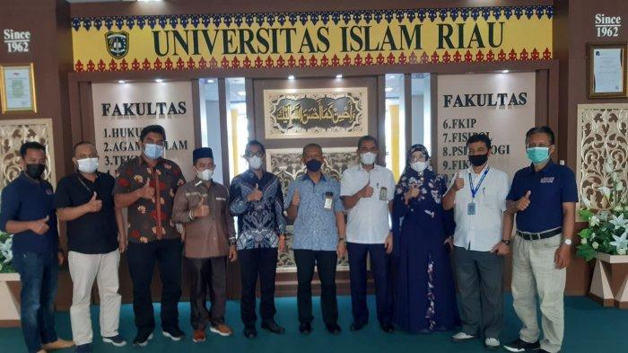IKA Teknik UIR Silaturahmi ke Rektor UIR Terpilih