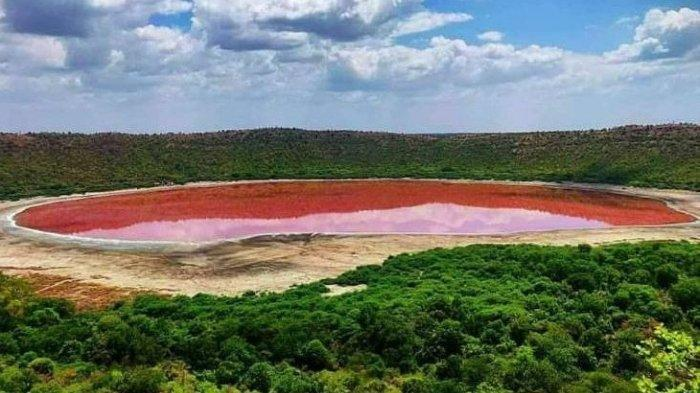 Ilmuan Kaget, Air Danau Berusia 50.000 Tahun Berubah Warna Menjadi Pink, Dikaitkan dengan Lockdown