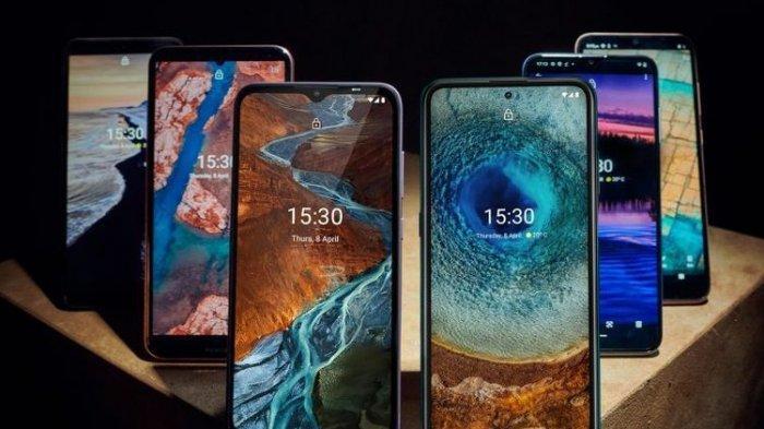 Legenda Gebrak Pasar, Nokia Luncurkan 6 Smartphone Terbaru Sekaligus, Cek Harga Tertinggi 6 Juta