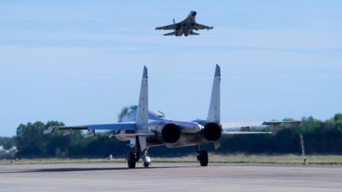 Taiwan Tegang, Pesawat Militer AS Mendarat, China Bereaksi, Gelar Latihan Militer