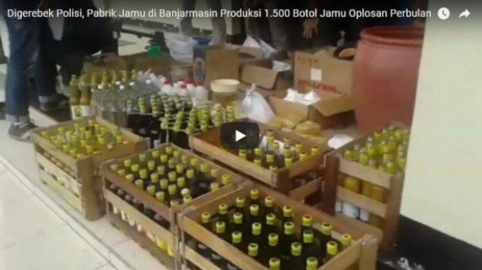 Pabrik Jamu Ilegal di Pekanbaru Digerebek Polisi, Dipasarkan Hampir ke Seluruh Wilayah Riau