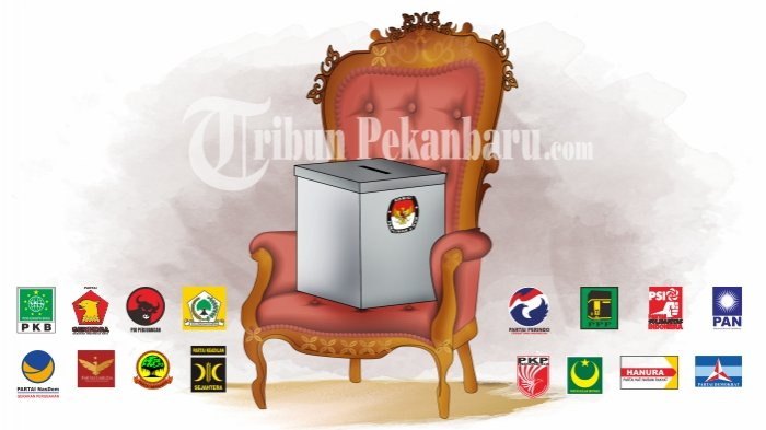 KETUA Komisi di DPRD Riau Dikuasai Partai Pendukung Jokowi Partai Pendukung Prabowo hanya Dapat Satu