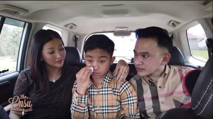 Lulus SMP, Nilai Rapor Betrand Peto Bikin Ruben Onsu dan Sarwendah Kaget, 'Oh my God'