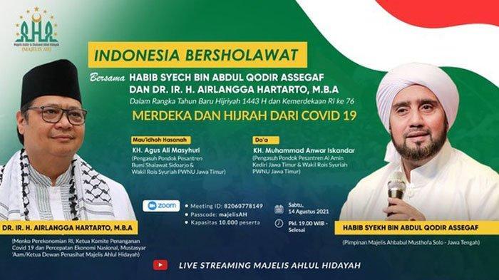 Peringati Tahun Baru Islam 1443 H, Golkar Gelar Indonesia Bershalawat