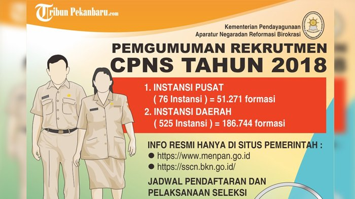 Wakil Rakyat Ingatkan Pelamar CPNS 2018 Tidak Tergiur Rayuan Calo