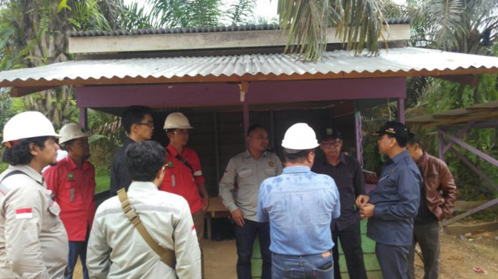 Tiga Anggota DPRD Provinsi Sidak ke Lokasi Tambang Batu Bara di Inhil