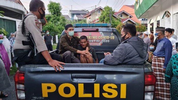 Ini Identitas Pelaku yang Menampar Imam Masjid di Pekanbaru, Motif Masih Didalami
