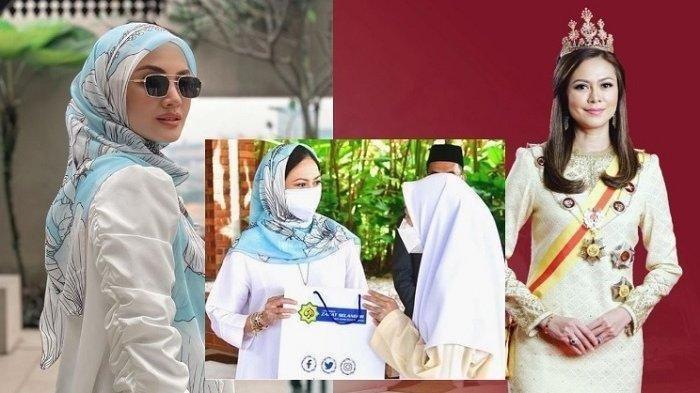 Inilah Permaisuri Cantik dari Kerajaan Malaysia, Pakai Hijab Murah Harga Rp100 Ribu: Suri Tauladan