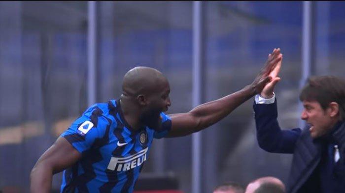 Liga Italia : Antonio Conte yang bisa Ubah Romelu Lukaku di Inter Milan, Pelatih Belgia Sampai Kaget