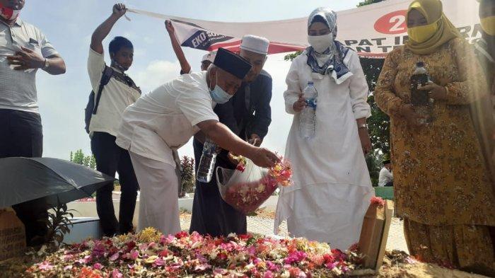 Jelang Pencoblosan Pilkada Dumai, Syarifah Ziarah ke Makam Eko Suharjo dan Konsolidasi Saksi